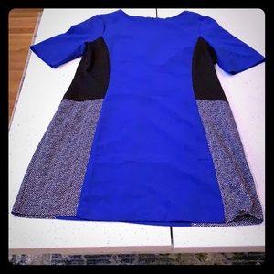 Perceptions color block dress